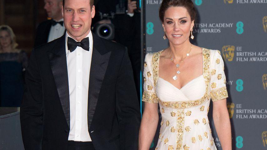 Prinz William und Herzogin Kate im Februar 2020