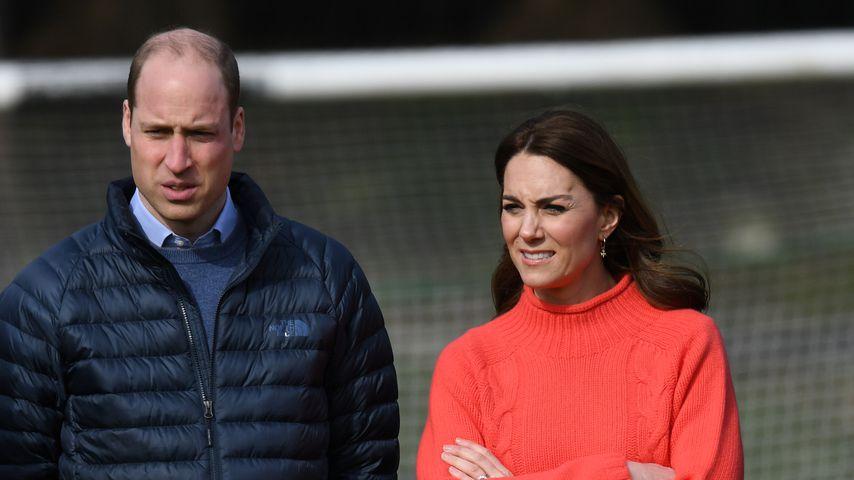 Prinz William und Herzogin Kate im März 2020