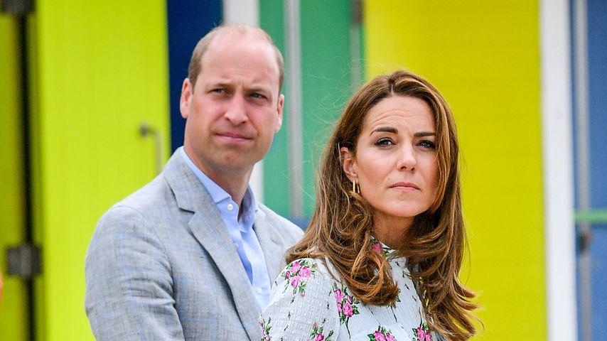 Prinz William und Herzogin Kate im August 2020