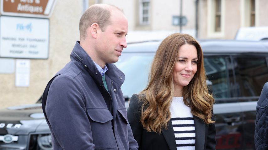 Prinz William und Herzogin Kate in Fife, 2021
