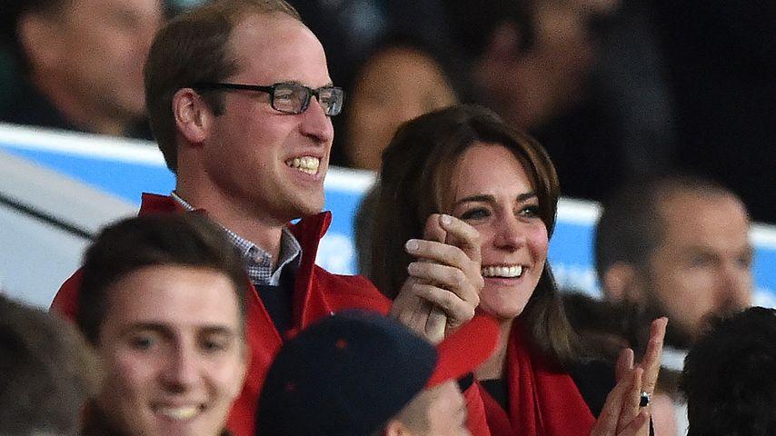 Herzogin Kate: Royales Rugby-Date mit Prinz William