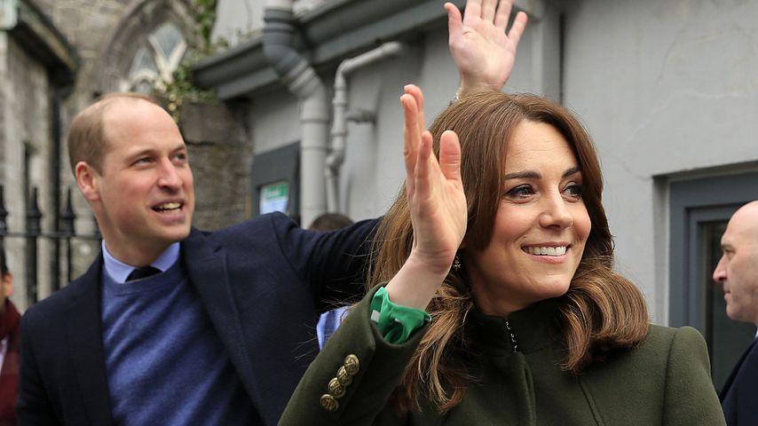 Australien-Reise abgesagt: William und Kate grüßen per Video