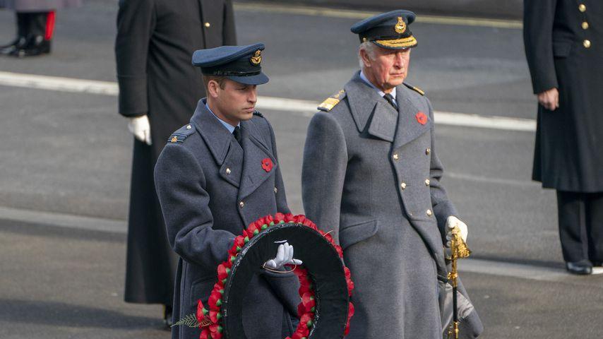 Prinz William und Prinz Charles zum Service of Remembrance 2020