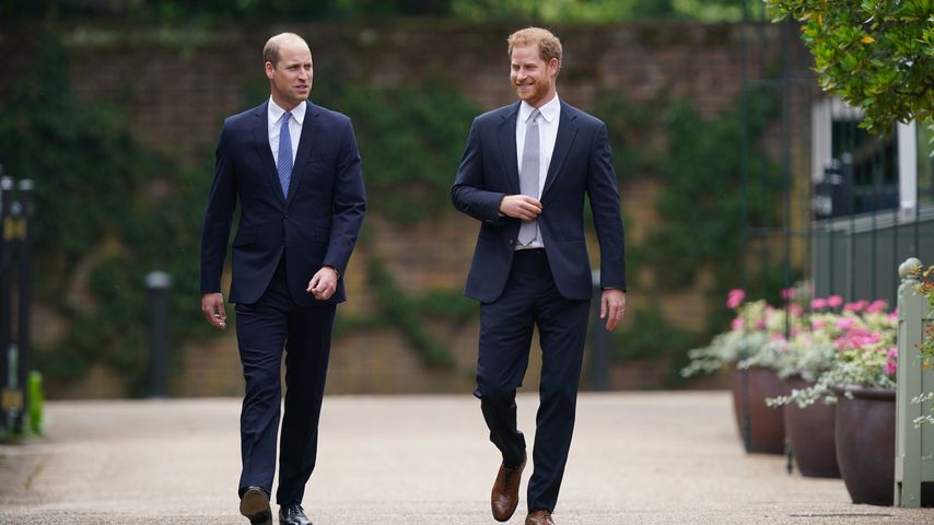Prinz William und Prinz Harry im Juli 2021