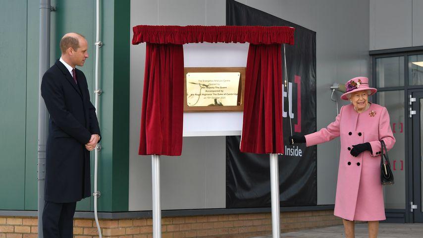 Prinz William und Queen Elizabeth II. im Oktober 2020