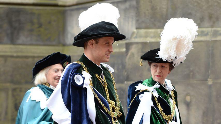 Prinz William in Edinburgh