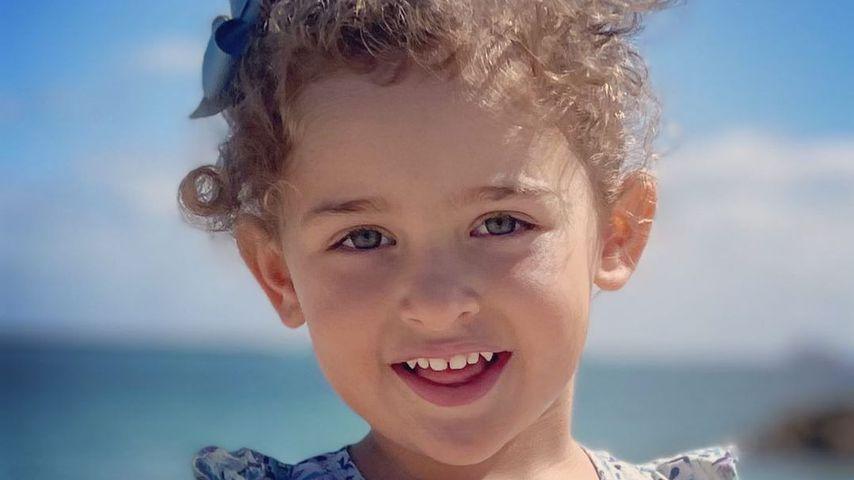 Groß geworden: Madeleines Tochter Adrienne wird schon drei!