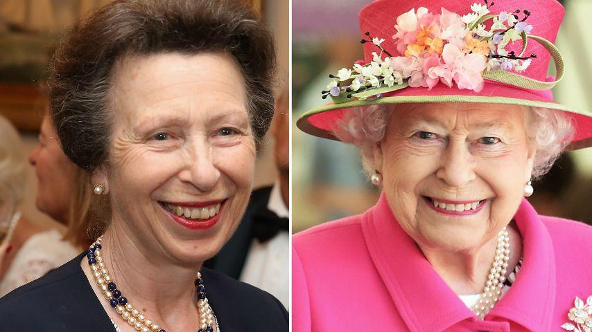 Wie süß: Prinzessin Anne bringt der Queen Videocalls bei