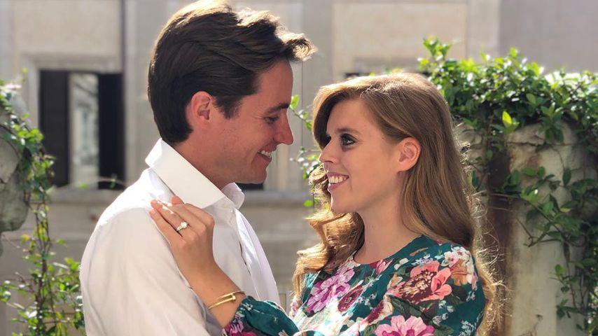 Prinzessin Beatrice und Edoardo Mapelli Mozzi bei ihrer Verlobung