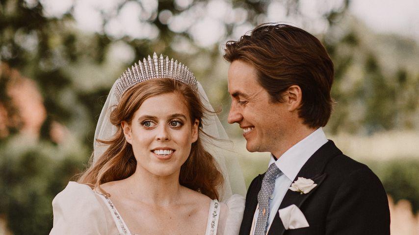 Prinzessin Beatrice und Edoardo Mapelli Mozzi im Juli 2020 in Windsor