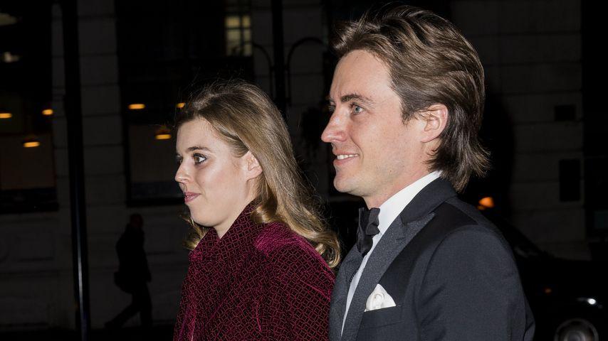 Prinzessin Beatrice und Edoardo Mapelli Mozzi in London im März 2019
