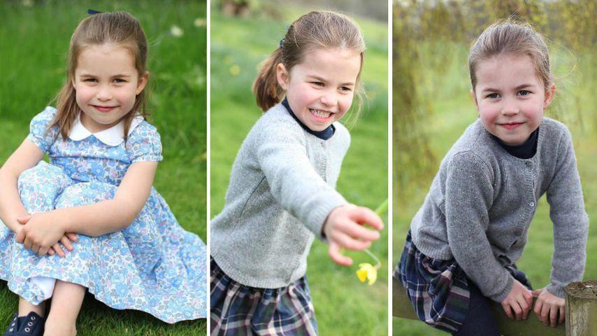 Zuckersüße Pics: So groß ist Prinzessin Charlotte (4) schon