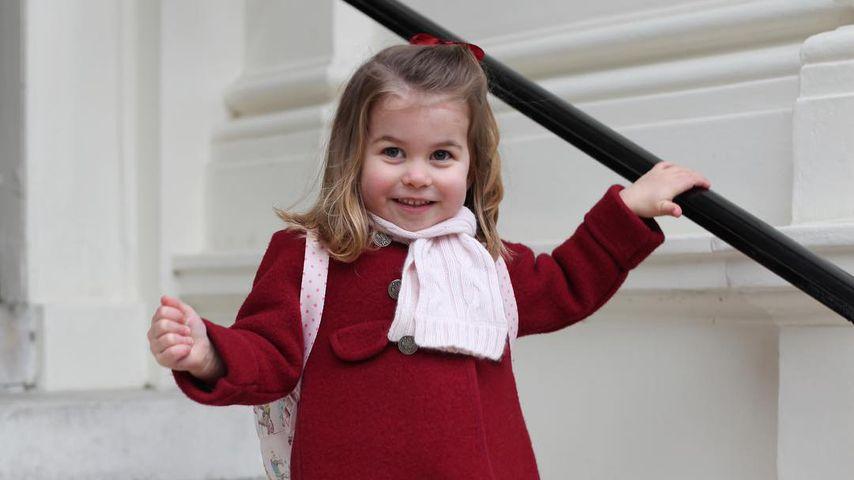Prinzessin Charlotte an ihrem ersten Kindergartentag in London