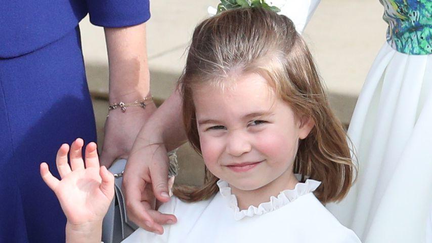 So groß geworden: Prinzessin Charlotte wird schon vier Jahre