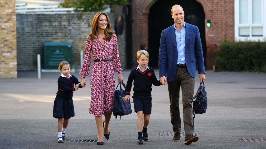So bodenständig verbringen die Royal-Kids ihre Herbstferien!