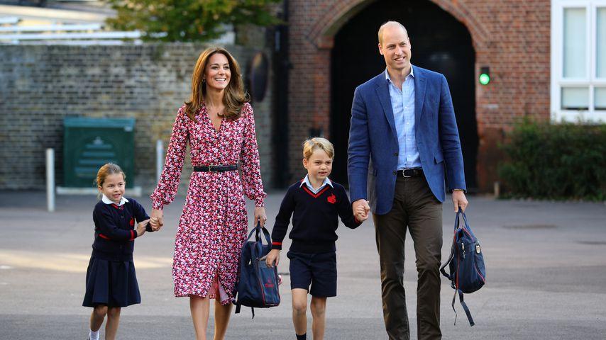 Doppelgänger? Britische Mini-Royals imitieren ihre Eltern