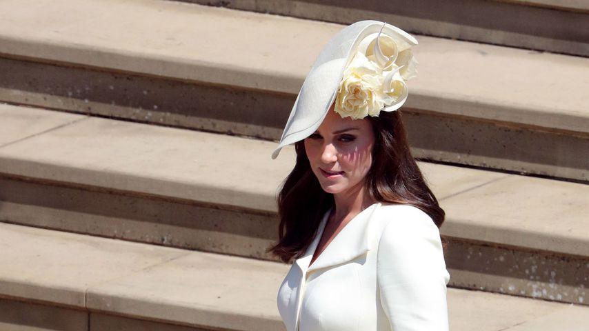 Prinzessin Charlotte und Herzogin Kate bei der Hochzeit von Prinz Harry im Mai 2018