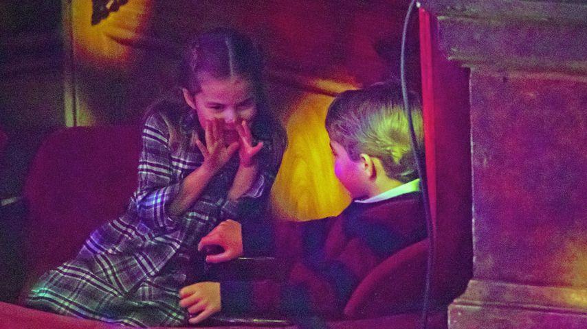 Prinzessin Charlotte und Prinz George in London