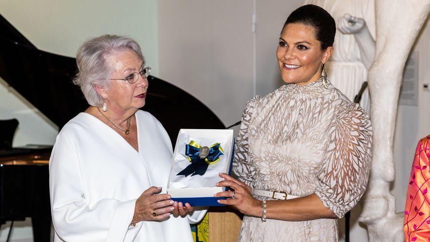 """Prinzessin Christina und Prinzessin Victoria bei der """"Schwedin des Jahres""""-Preisverleihung"""