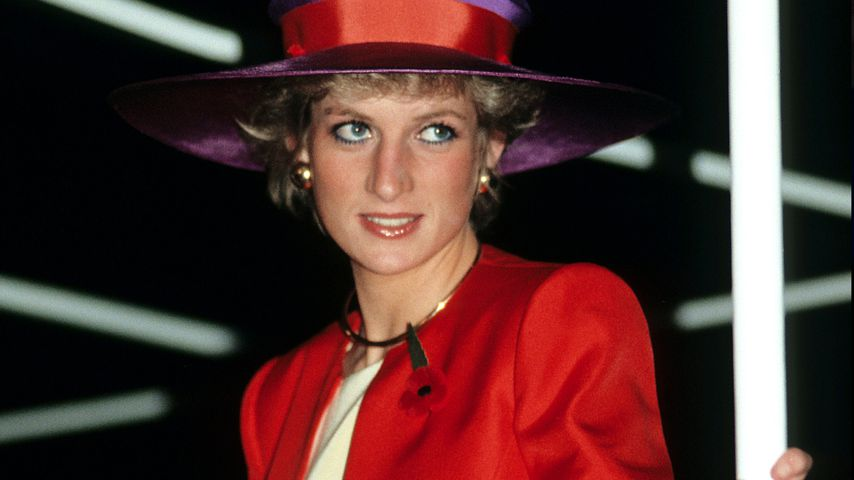 Prinzessin Diana in Hongkong im November 1989