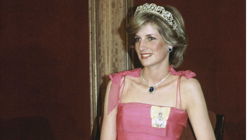 Prinzessin Diana in Australien im April 1983