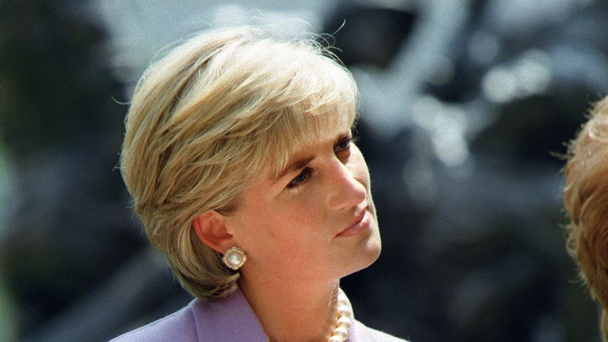 Prinzessin Diana in Washington, 1997