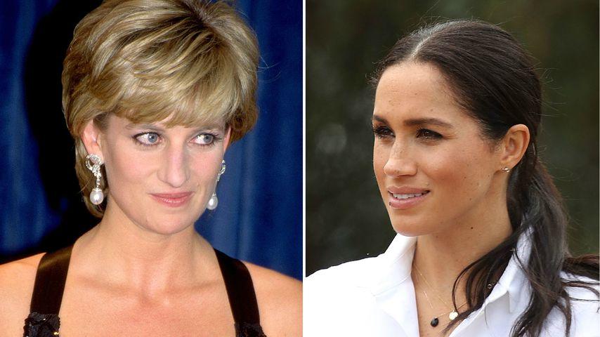 Durchlitten Lady Diana und Meghan im Königshaus Ähnliches?