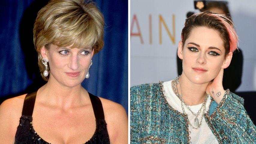 Sie spielt Prinzessin Diana: Kristen Stewart ist nervös!