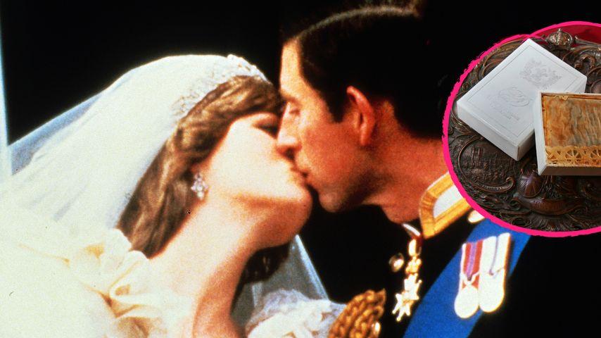 Eklig! Lady Dianas alte Hochzeitstorte versteigert