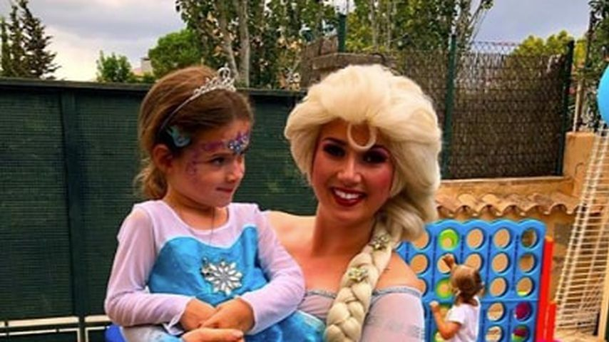 Sophia Cordalis und Prinzessin Elsa
