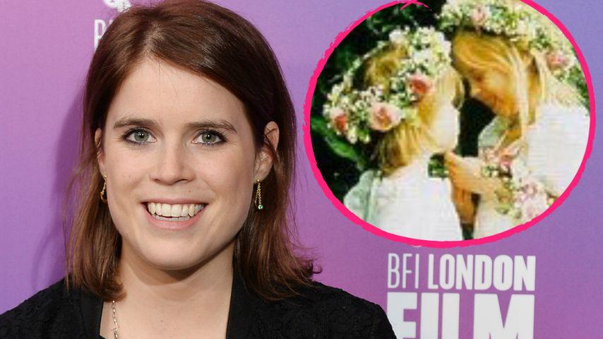 Hochzeits-Countdown: So süß war Eugenie als Blumenmädchen