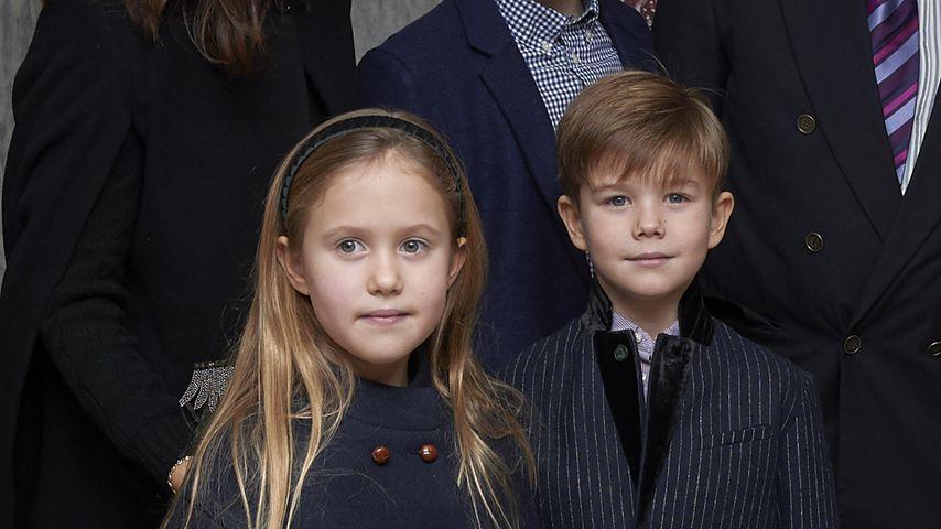 Prinzessin Josephine und Prinz Vincent von Dänemark im Dezember 2018