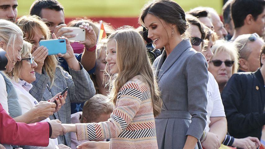 Prinzessin Leonor und Königin Letizia in Oviedo 2019