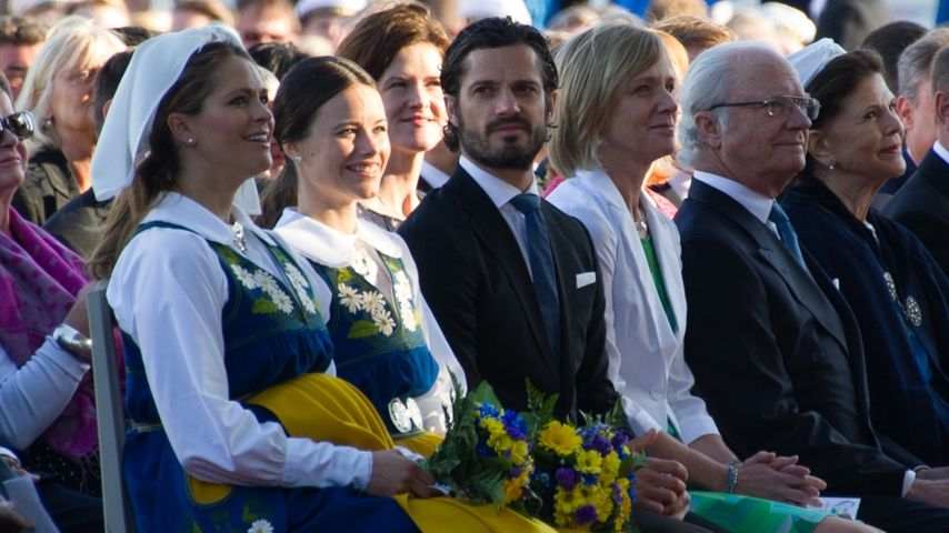 Prinz Carl Philip von Schweden, Madeleine von Schweden und Sofia Hellqvist