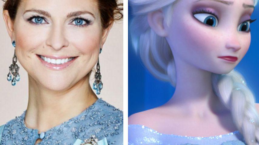 """""""Frozen""""-Style: Madeleine erinnert an Disney-Prinzessin Elsa"""