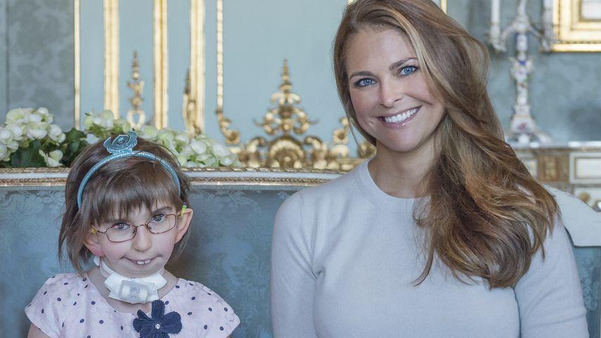 Wie rührend: Prinzessin Madeleine trifft ihren größten Fan!