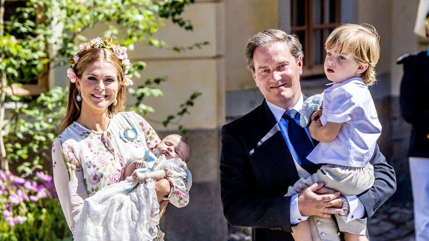 Royal-Status: Prinzessin Madeleines Kids wissen von nichts!