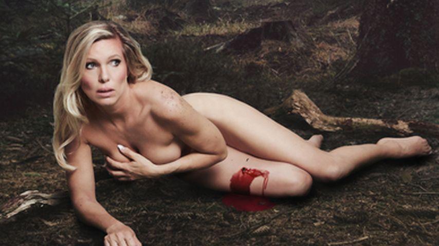 Nackt gegen Tierjagd: Prinzessin Maja schockt mit Werbebild!