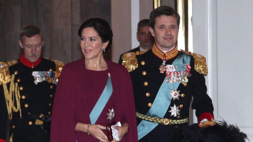Prinzessin Mary und Prinz Frederik im Christiansborg Palace