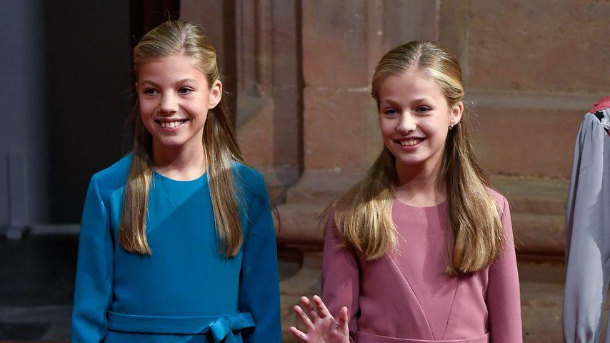 Prinzessin Sofía von Spanien und Prinzessin Leonor von Spanien 2019