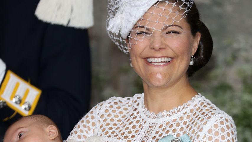 Schweden-Taufe: So günstig war Prinzessin Victorias Kleid!