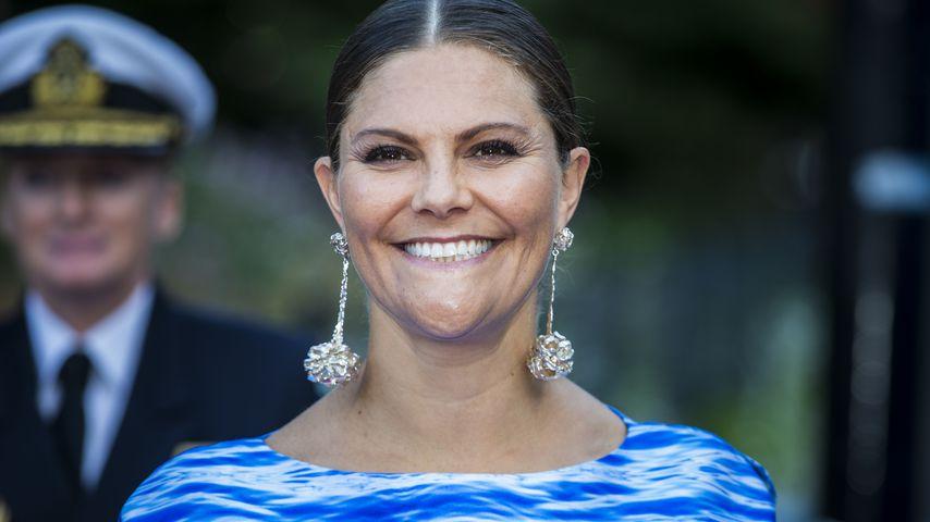Prinzessin Victoria von Schweden beim Junior Water Prize in Stockholm im August 2019