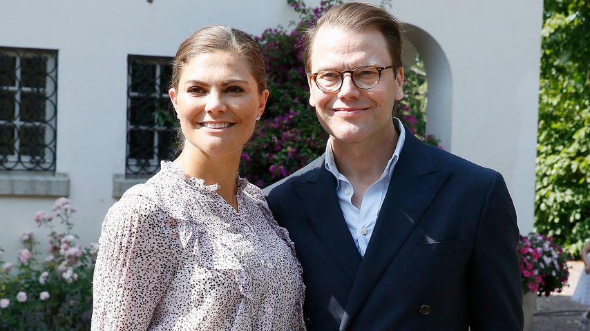 Prinzessin Victoria und Prinz Daniel von Schweden auf Schloss Solliden