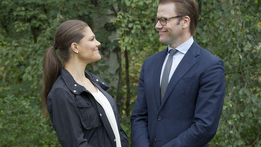 Prinzessin Victoria und Prinz Daniel von Schweden im August 2012