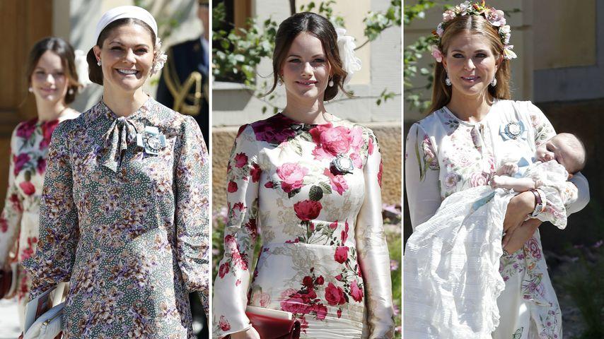 Stylecheck bei Adriennes Taufe: Welche Prinzessin überzeugt?