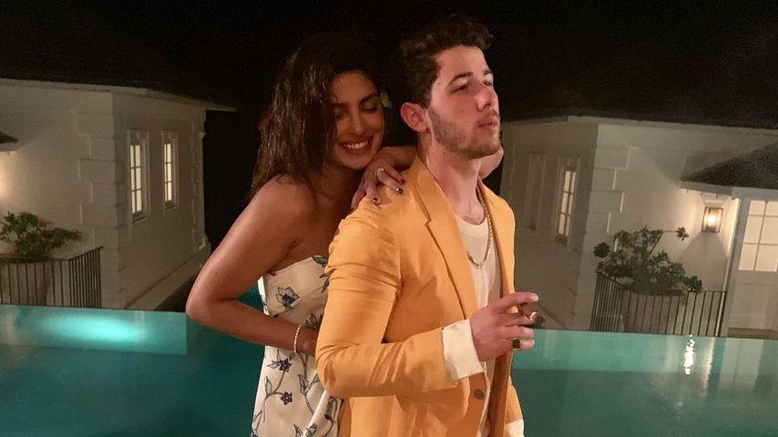 Priyanka Chopra und Nick Jonas in ihren Flitterwochen