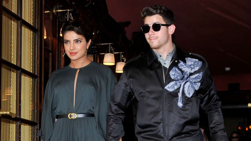 Priyanka Chopra und Nick Jonas im Juli 2019 in Paris