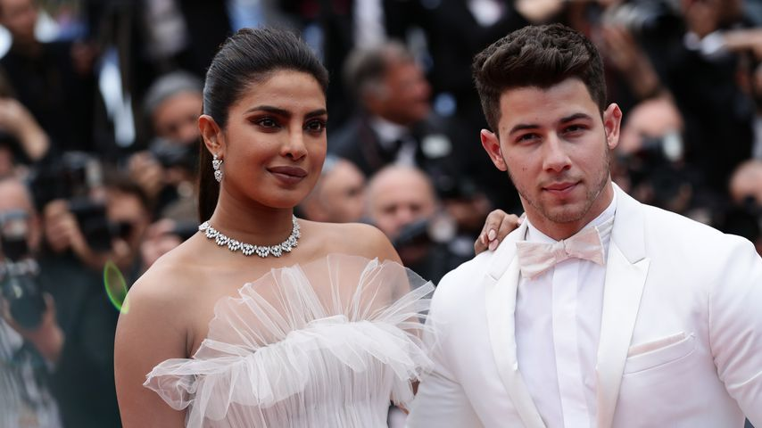Priyanka und Nick Jonas in Cannes