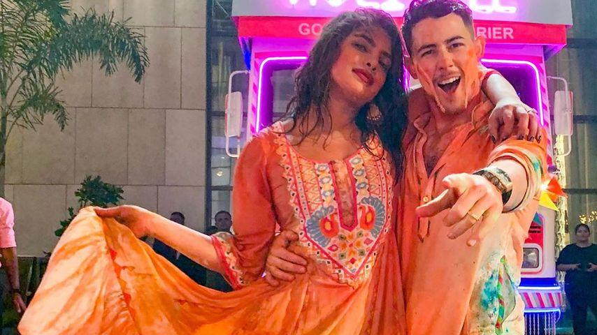 Priyanka Chopra und Nick Jonas im März 2020
