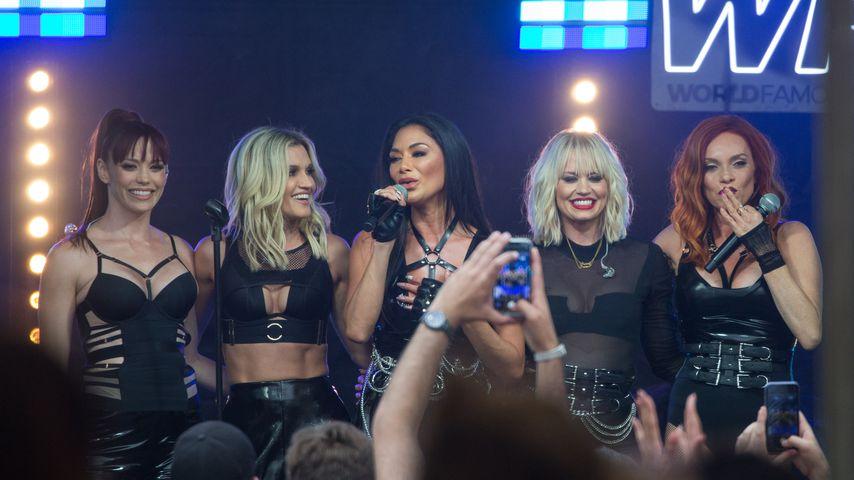 Pussycat Dolls bei einem Auftritt in Melbourne, Australien